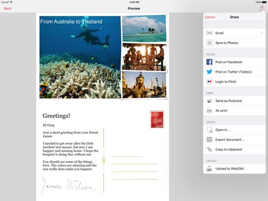 Lifecards - Postcards screenshot