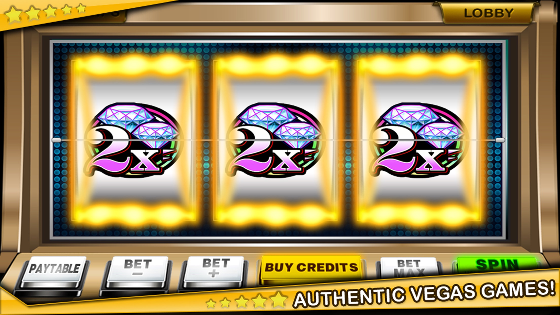 Classic Slots - Free Vegas Styled Original Slot Machines Screenshot