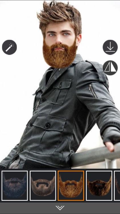 Beard Photo editor - Live Camera