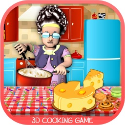 Granny's Bakery – Cakes & Cookies Cooking 3D Game
