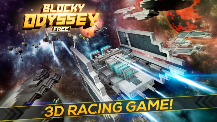 Blocky Odyssey | Space Ship Exploration Trek (Free Game)