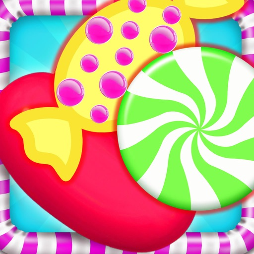 A Super Crazy Candy Flavors - Melting Game Magic Candy icon