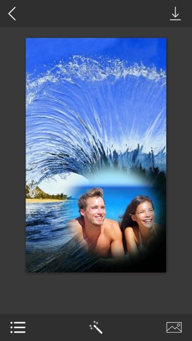 Ocean Wave Photo Frames - Elegant Photo frame for your lovely moments screenshot two