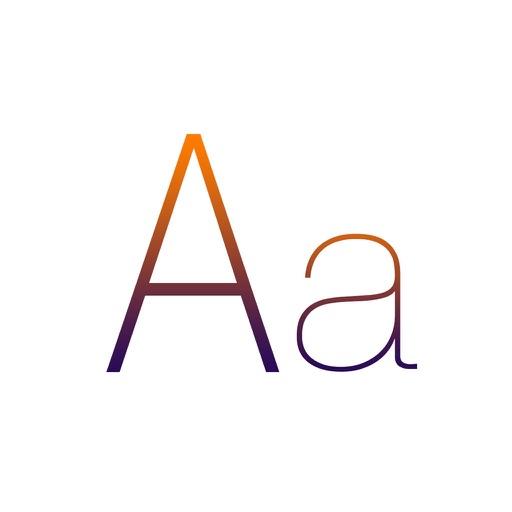Fonts Keyboard, Art Fonts, Cool Font for Chat app logo