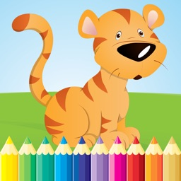Animal Coloring Book - Drawing for kid free game, Paint and color games HD for good kid