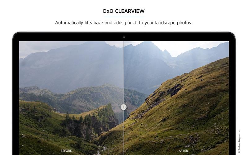 DxO OpticsPro for Photos Screenshots