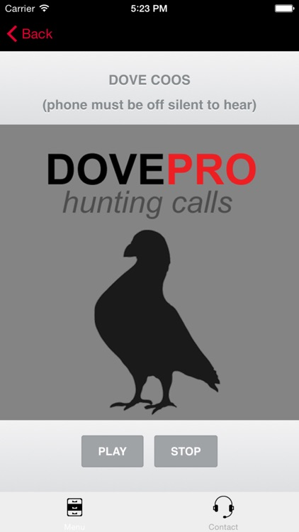 REAL Dove Sounds and Dove Calls for Bird Hunting -- BLUETOOTH COMPATIBLE screenshot-0