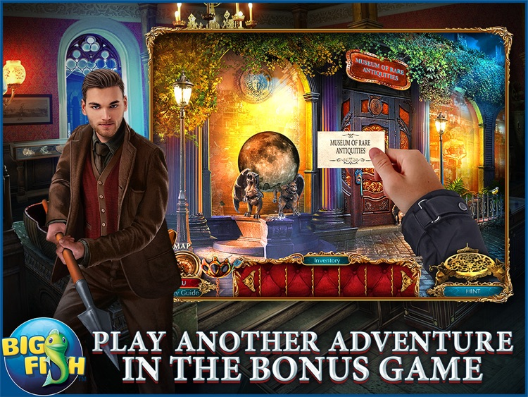 The Curio Society: Eclipse over Mesina HD - A Hidden Object Mystery (Full) screenshot-3