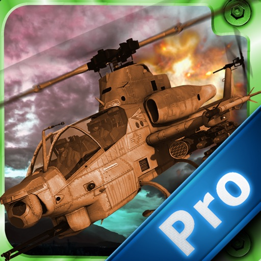 Super Explosive Combat Helicopter Pro - Flying High And Avoid blow