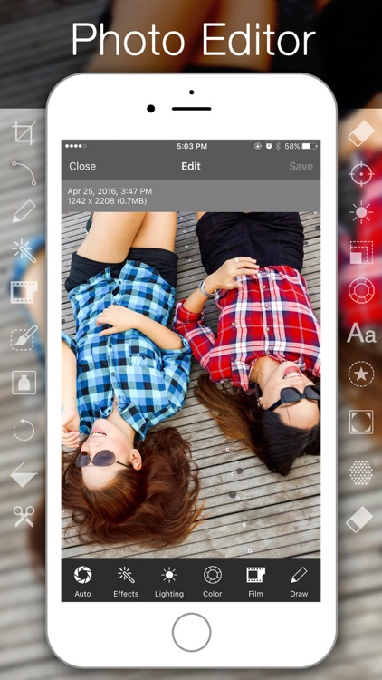 Rapit Photo Editor - PIP, Collage & Frame Maker HD