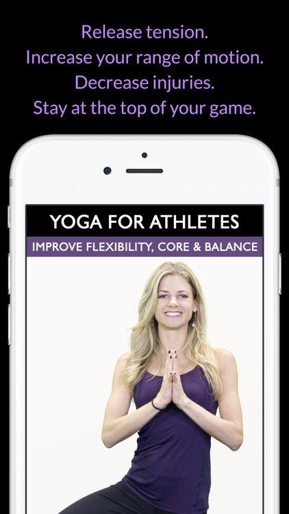 Yoga For Athletes: Improve Flexibility, Core & Balance