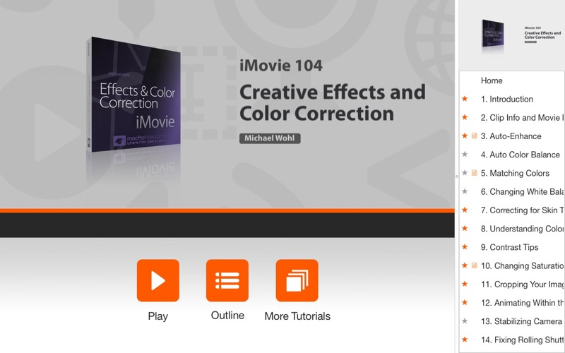 Course for Effects and Color Correction for iMovie | App Price Drops