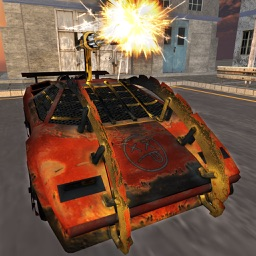 Death Race Car Fever 3D - Real Turbo Car Chase & Shooting Game