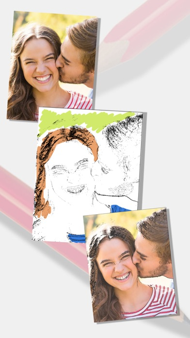 Sketch Photo Effect editor to color your images - Premium Screenshot 1