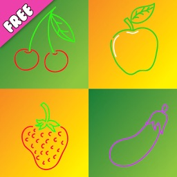 Veggies and Fruits Learning -A Gardening educational games for kids and toddlers