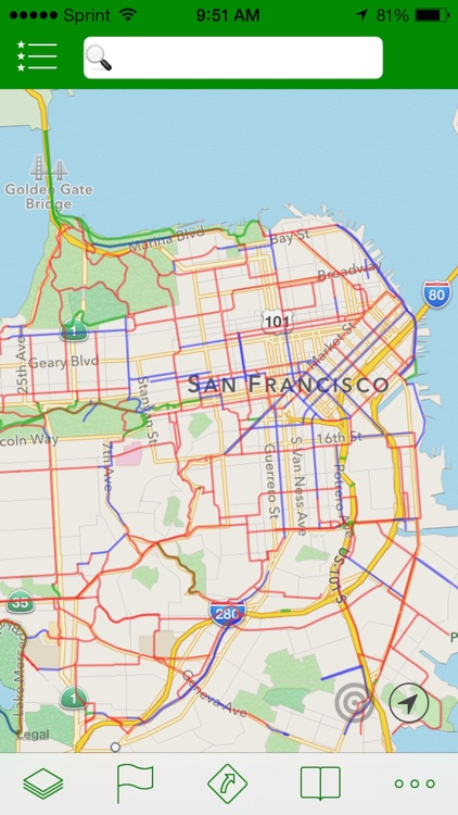 Get There By Bike - Interactive Bike Maps for the Urban Commuter