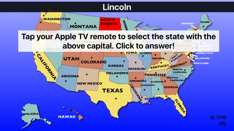 United States Map Quiz: US Geo