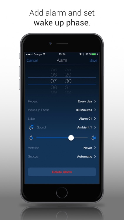 Clever Alarm Clock & Recorder screenshot-3