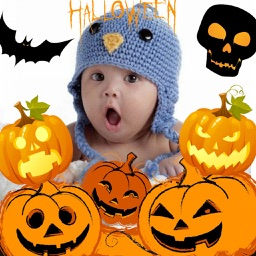 Halloween Photo Stickers and Frames