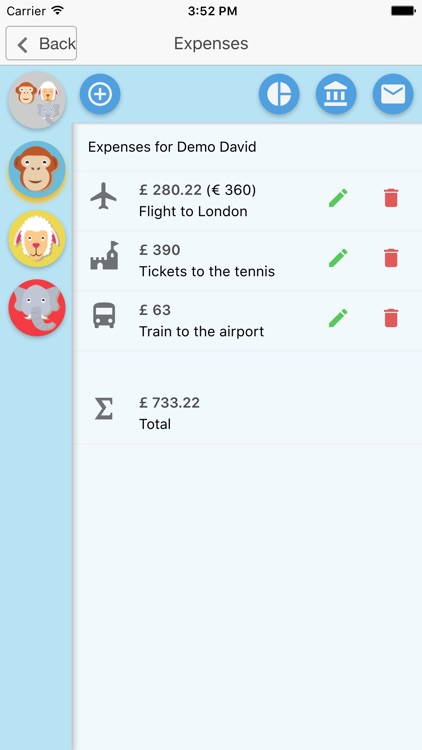 Travel Expense Calculator IYH