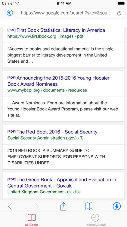 PDF Reader Pro - Book Reader and downloader screenshot-3