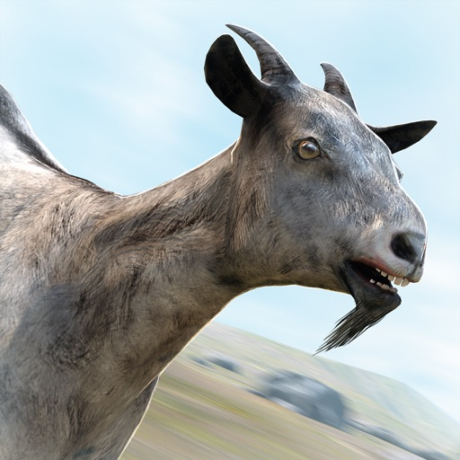 Have You Gone Goat? Free Simulator Games with Crazy Goats iOS App