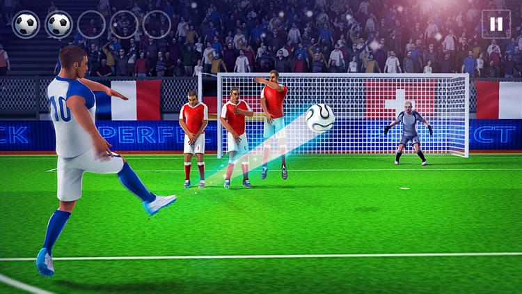 Soccer Free Kick Best Player