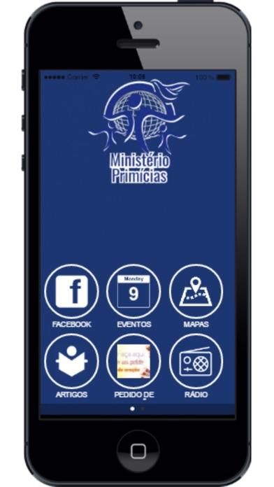 Ministerio Primicias app image