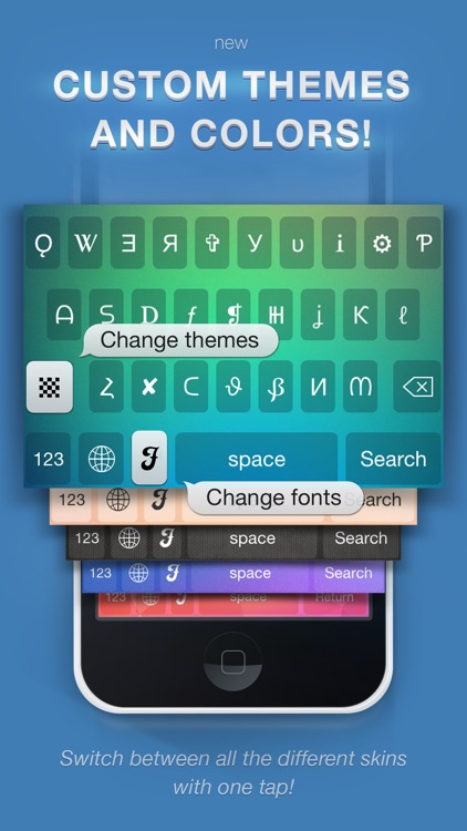 Symbolizer Fonts Keyboard with Fancy Emoji Symbols for Facebook and Instagram