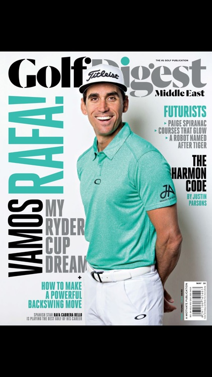 Golf Digest Middle East screenshot-0