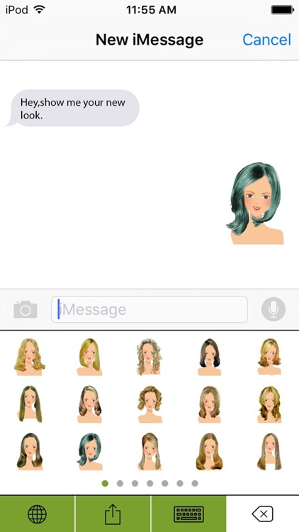 HairMoji - The Best Hair Styles Salon screenshot-2