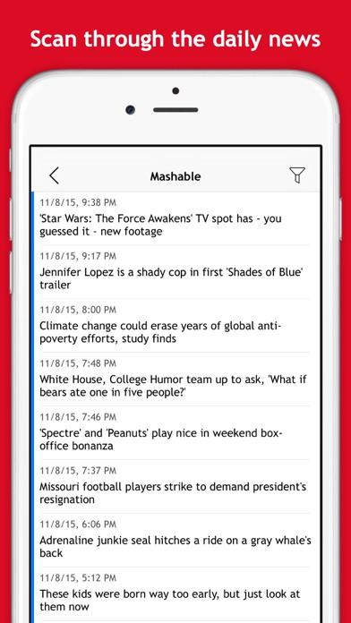 Free RSS Reader screenshot two