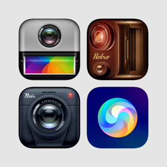 Piclab 360 Pro Bundle - Best Amazing Camera 500 Sticker and Filters & Effects