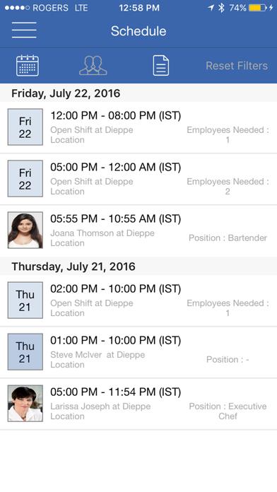 Work Center : Shift Scheduling & Staff Scheduling Manager screenshot three