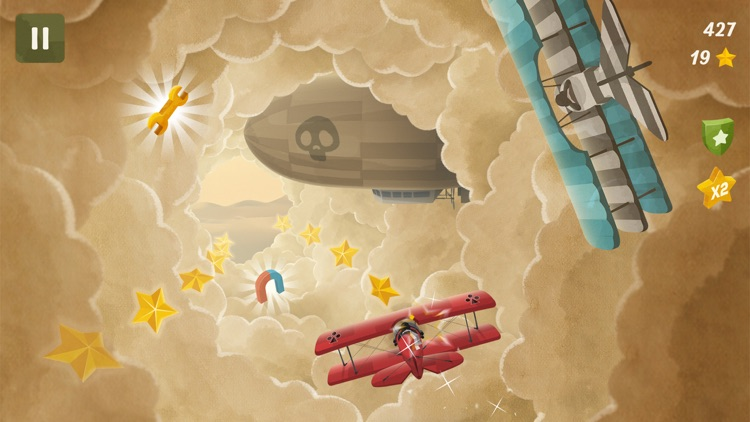 Flying in Clouds screenshot-3