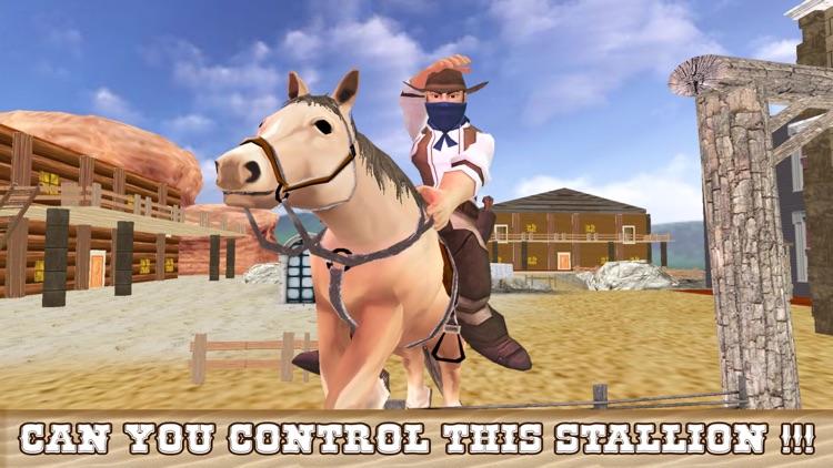 Extreme Cowboy Horse Riding Simulator - Ultimate Bounty Hunt screenshot-3