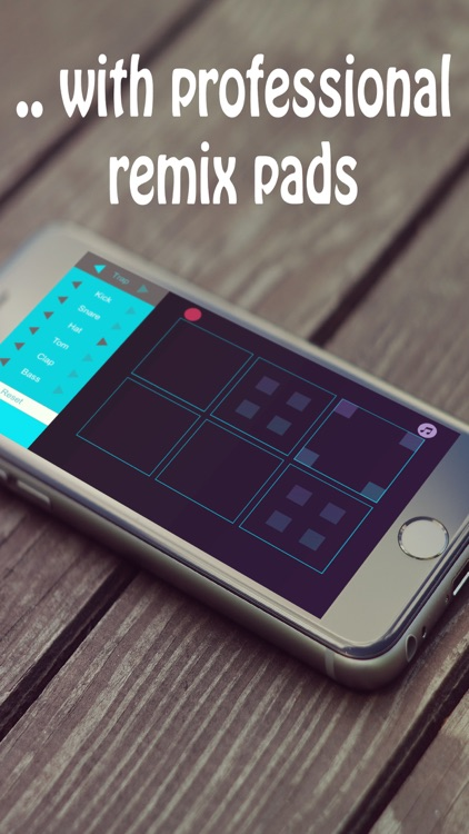 Remix Pads - make groove beats & record music app