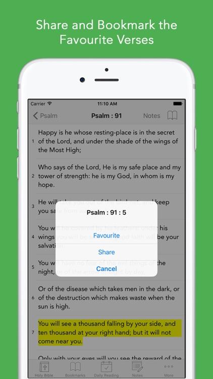 KJV Bible: King James Version screenshot-3