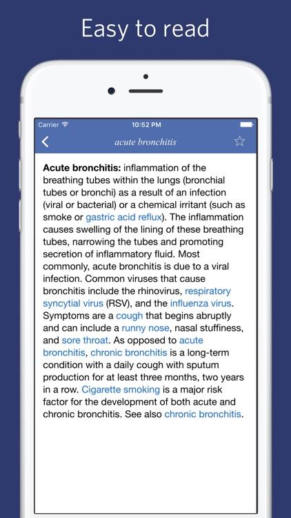 Medical dictionary - Advanced