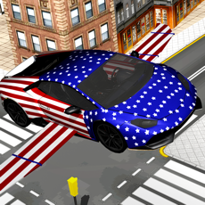 Activities of Flying American Car Pilot the Unlimited Driving