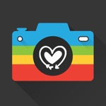 Snap Cam - Create photo with text caption in multicolor for Snapchat