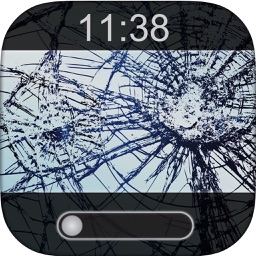 Break My Phone-Fake Lock Screens and Breaking Glass Wallpaper