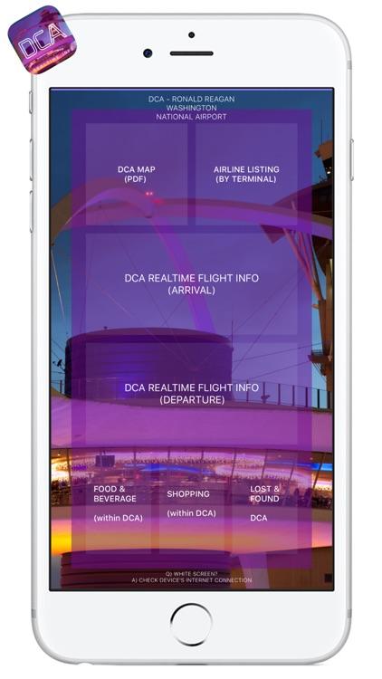 DCA AIRPORT - Realtime, Map, More - RONALD REAGAN WASHINGTON NATIONAL AIRPORT