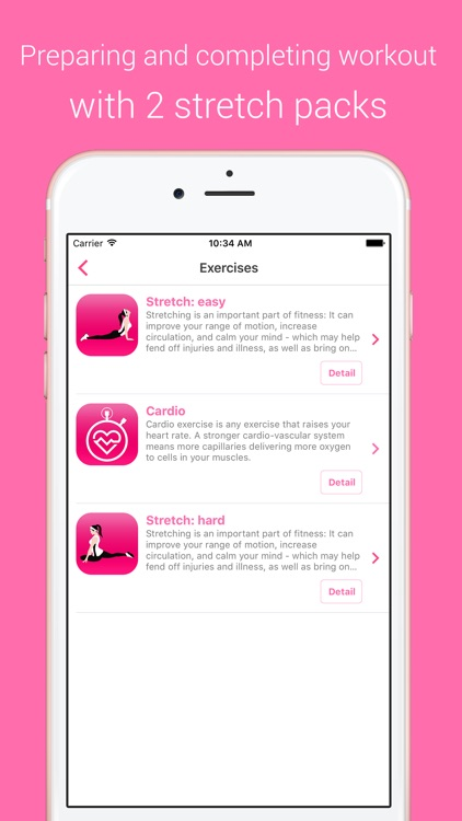 Cardio Workout - Your Daily Personal Fitness Trainer for burning calories and building endurance screenshot-3