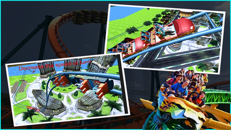 Crazy Roller Coaster Riding 3d screenshot-3