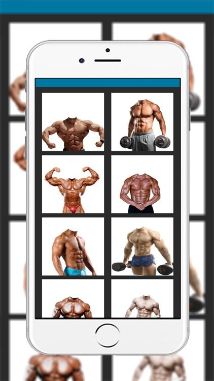 Body builder montage photo