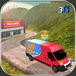 Pizza Delivery Van Simulator - City & Offroad Driving Adventure