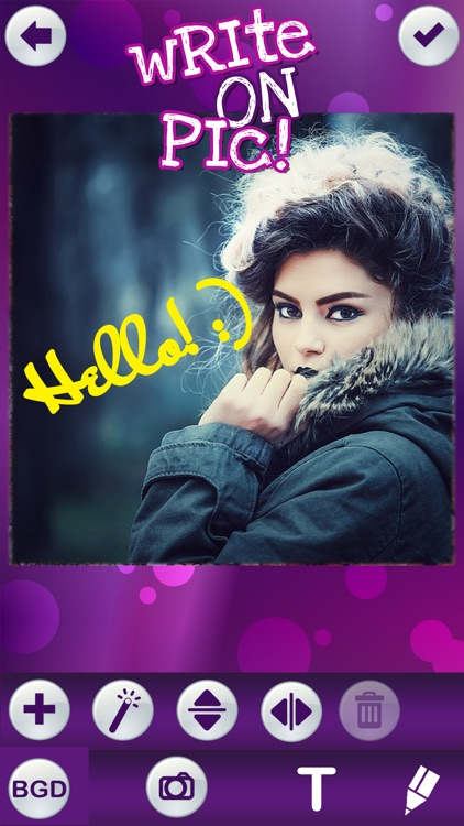 Write on Pics Free Photo Studio Editor – Add Text and Caption.s over your Favorite Picture.s screenshot-4