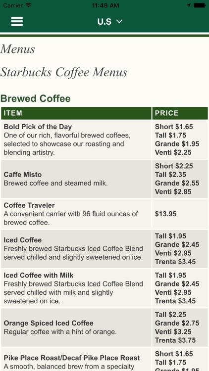 Best Secret Menu for Starbucks & Store Locator screenshot-4