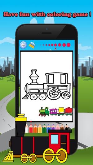 Train Arkadaslar Boyama Kitabi Cocuklar Yas 1 10 Oyunlari Her